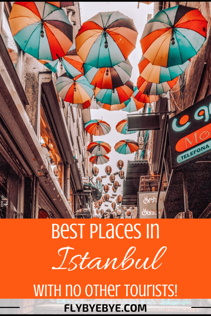 Is this your second time in the city and you are looking for non-touristy things to do in Istanbul? Or maybe you want a more authentic, local experience? I got you! Here's a list with the best non-touristy places in Istanbul. #alternativeistanbul #istanbul #turkey