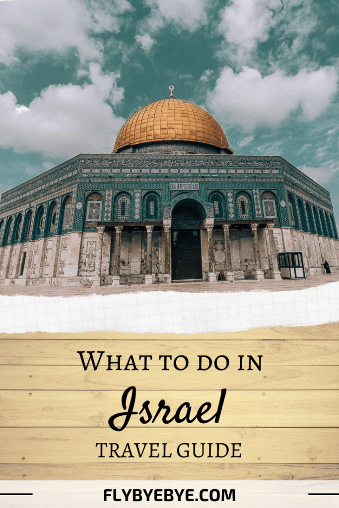 Best things to do in Israel for a first time visit. What to see in Israel and the places you can't miss. Keep reading if you will travel Israel and want to know what to do in Israel in a week. #israel #jerusalem #telaviv