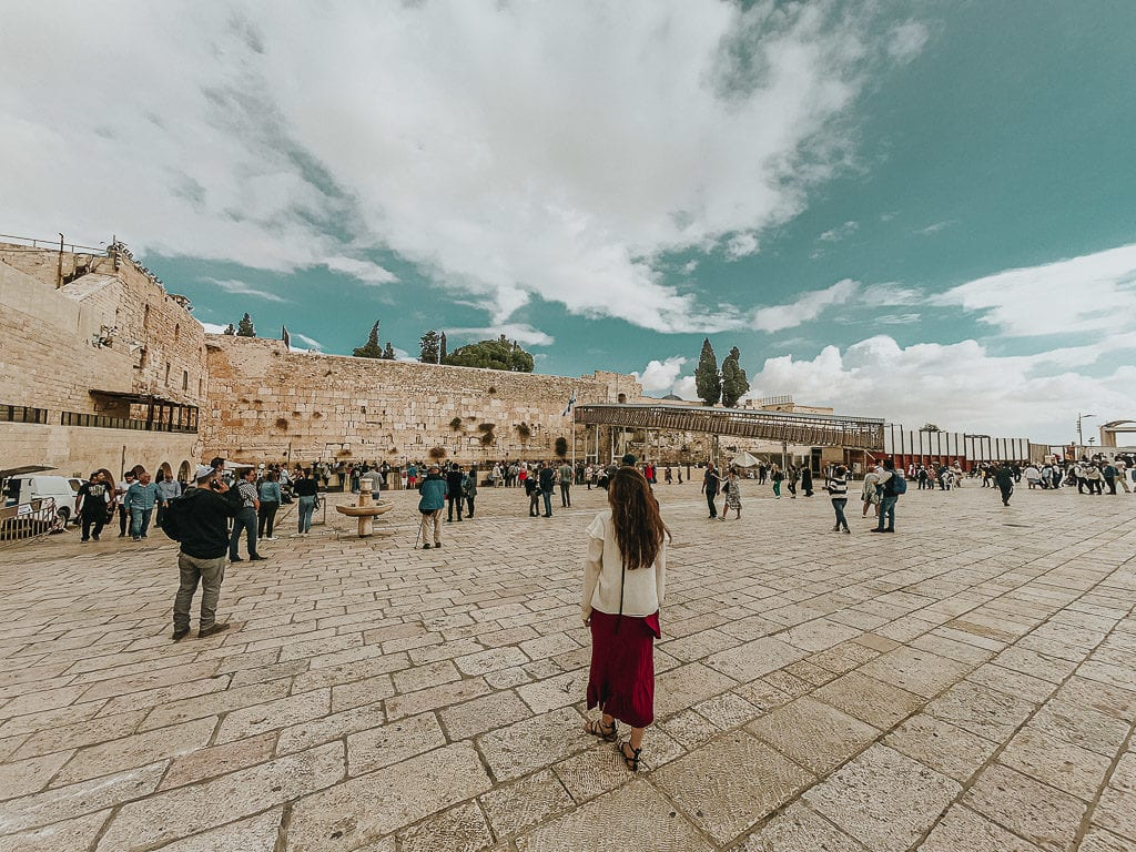 places to visit in israel - western wall