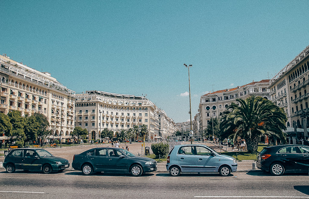 aristotelous square thessaloniki