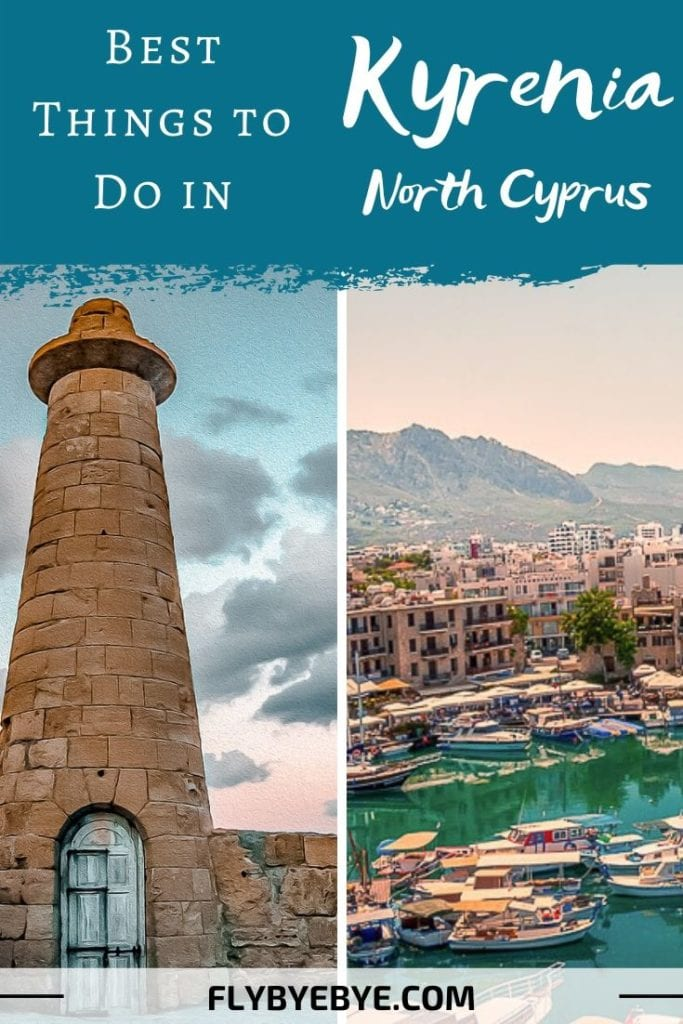 Top things to do in Kyrenia (Girne), Northern Cyprus. The best places to visit in the jewel of Northern Cyprus. Read more if you are interested in a trip to Kyrenia, travel to Girne, what to do in Kyrenia #Kyrenia #Girne #NorthernCyprus #Cyprus