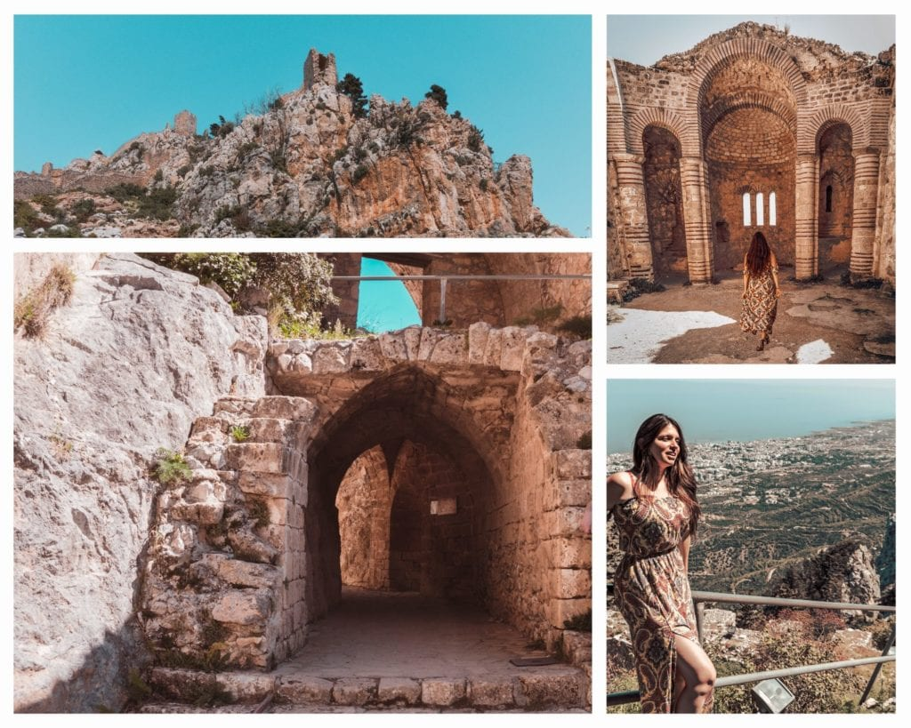 what to do in kyrenia girne - saint hilarion castle