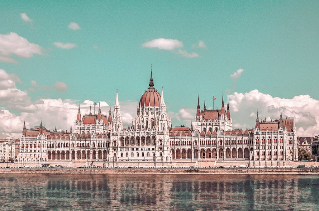 Budapest Itinerary - Parliament building