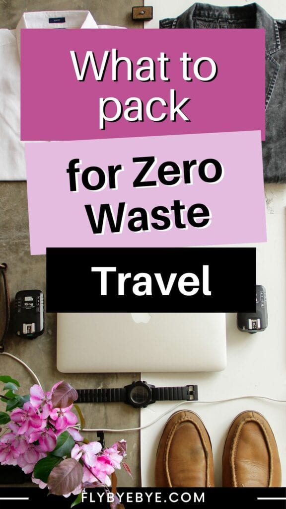 Packing list of zero waste travel essentials that are actually realistic and affordable. What to pack on your trips to reduce waste. Where to find the best items for sustainable travel.