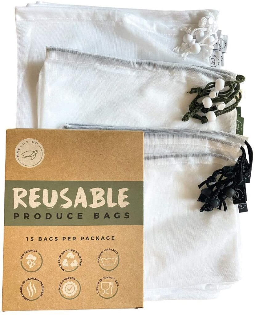 zero waste travel bags