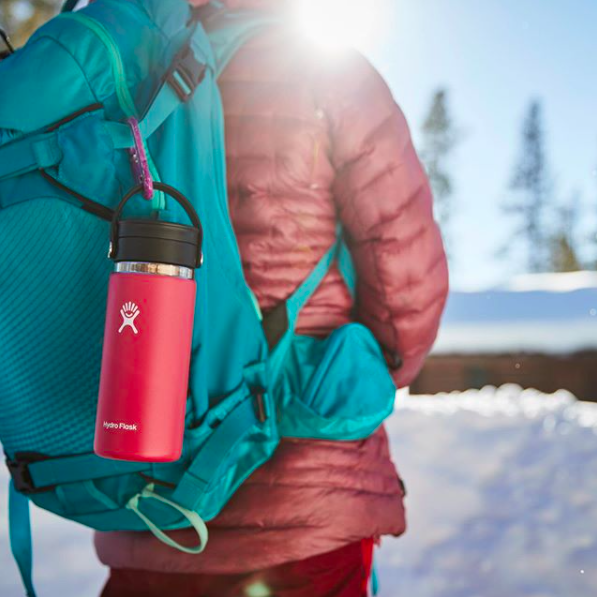 zero waste travel - water bottle